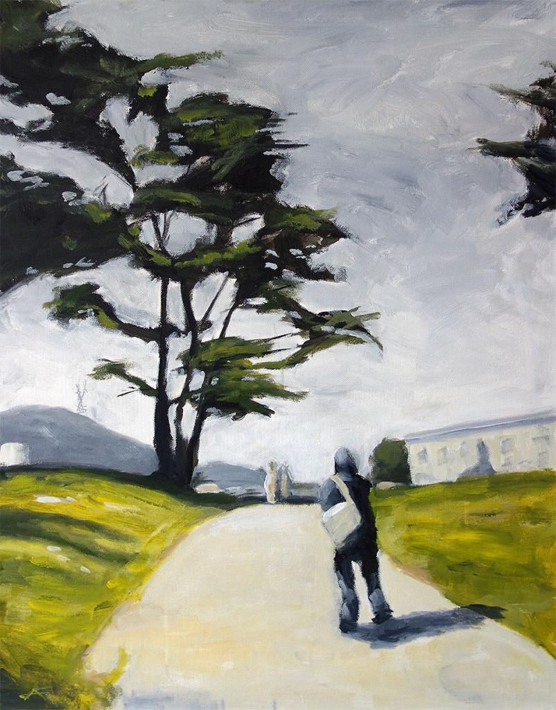 j farnsworth painting of san francisco
