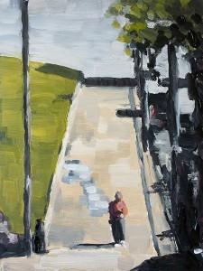j farnsworth painting of san francisco hill