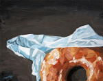 delicious painting of a doughnut